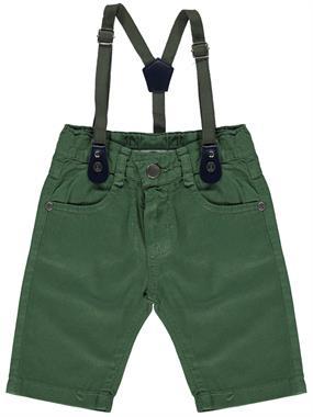 Civil Boys Suspenders Khaki Shorts Boy Age 2-5