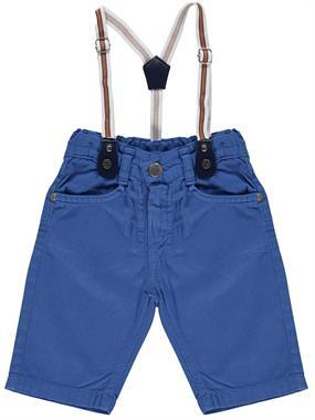 Civil Boys 2-5 Years Indigo Boy Shorts Suspenders