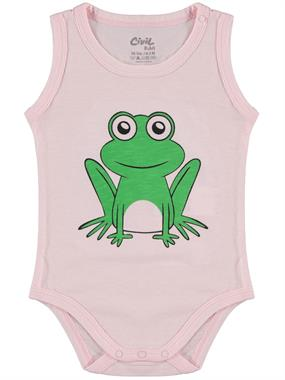 Civil Baby Baby 0-18 Months Pink Bodysuit With Snaps