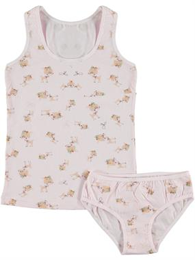Donella Pink Underwear Girl Child Aged 2-10 Team
