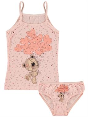 Donella The Ages Of 2-8 Salmon Team Girl Child Underwear