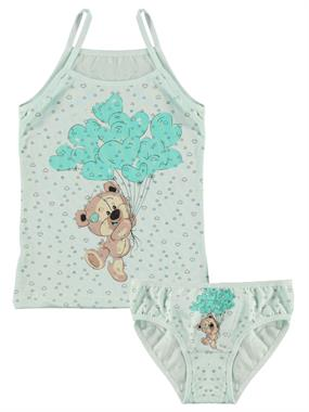 Donella Team The Mint Green Underwear Girl Child The Ages Of 2-8