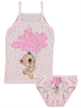 Donella Team Pink Underwear Girl Child The Ages Of 2-8