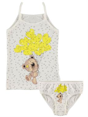 Donella Team Ecru Underwear Girl Child The Ages Of 2-8