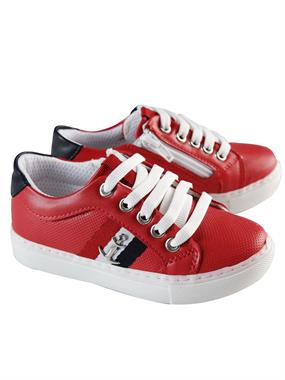Barbone Caldion 26-30 Boy Sneakers # Red