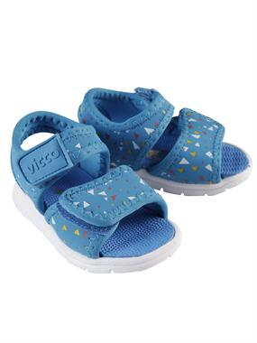 Vicco Blue Sandals Baby First Step 19-21 Number