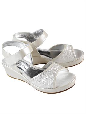 Missiva Ecru Sandals 33-37 Girl Number