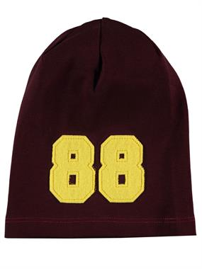 Albimama Abimm Child Burgundy Beanie 2-5 Years
