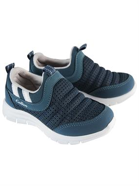 Callion 26-30 Number Petrol Blue Sneakers Boy
