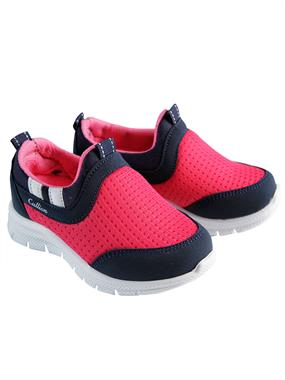 Callion 22-25 Girl Kids Sport Shoes Fuchsia Number