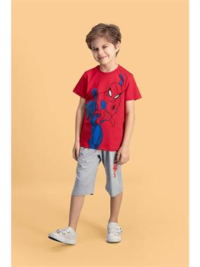 Spiderman The Red Team Boy Age 6-12 Kapril