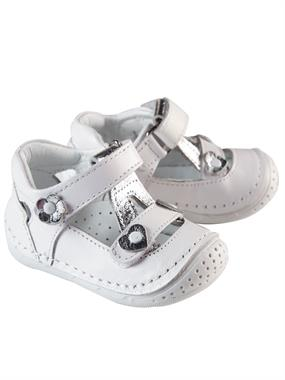 Baby Force White Skin Baby Girl First Step Shoes Number 18-21