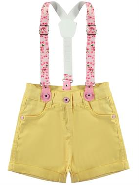 Civil Girls girls shorts yellow suspenders boy civil 2-5 years