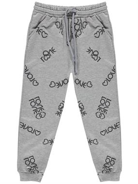 Civil Girls Lower Age 6-9 Girl Gray Sweatpants