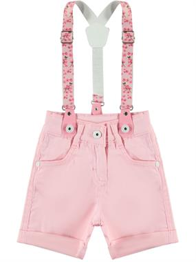 Civil Girls girls 2-5 years girls pink shorts suspenders boy civil