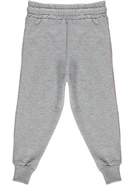 Civil Girls Gray Sweatpants On The Bottom Of The Girl Child 2-5 Years