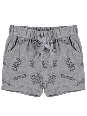 Civil Girls 2-5 Years Boy Girl Gray Shorts