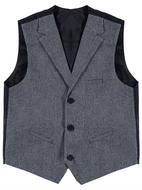 Civil Class Vest Navy Blue Boy Age 10-13