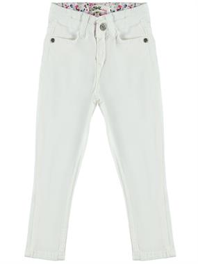 Civil Girls Girl Pants, White 2-5 Years