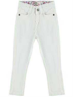 Civil Girls Kız Çocuk Pantolon 2-5 Yaş Beyaz
