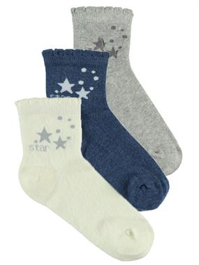 Civil Boy 3-Set of socks Grey ages 5-13