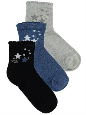 Civil Boy 3-Set of socks Blue ages 5-13
