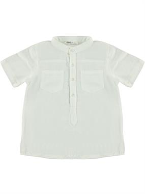 Civil Boys My Collar Ecru Shirt Age 6-9 Male The Rights Of The Child