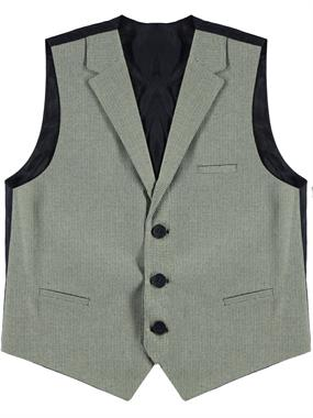 Civil Class Khaki Boy Vest For Age 6-9