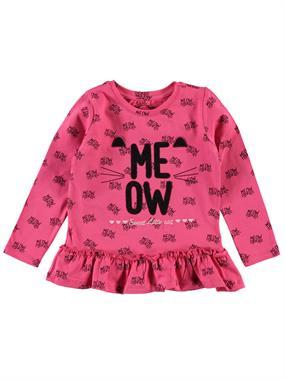 Cvl Age 2-5 Kids Girl Sweatshirt Fuchsia