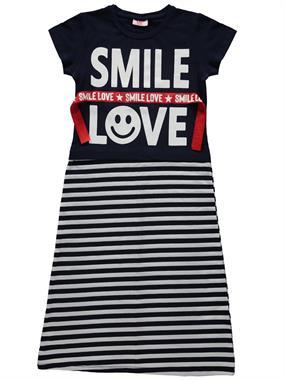 P&P Kız Çocuk Elbise 6-9 Yaş Lacivert
