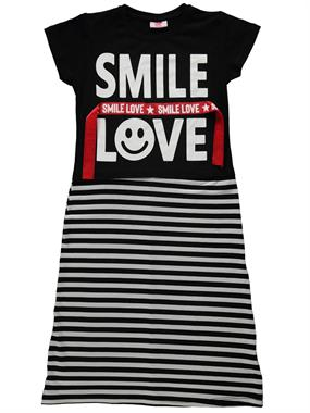 P&P Kız Çocuk Elbise 6-9 Yaş Siyah
