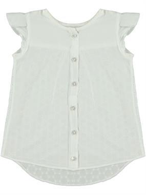 Civil Girls Kız Çocuk Gömlek 2-5 Yaş Beyaz