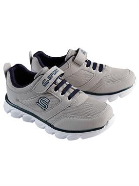 Sport Gray Boy Sneakers 31-35 Number