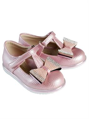 Missiva 21-25 Girls Ballet Flats Powder Pink Number