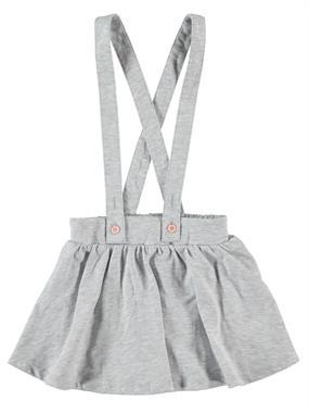 Cvl Suspenders Boy Girl Gray Skirt 2-5 Years