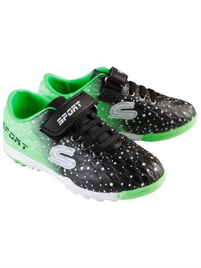Sport Numbers 26-30 Astroturf Sports Shoes Boy Black