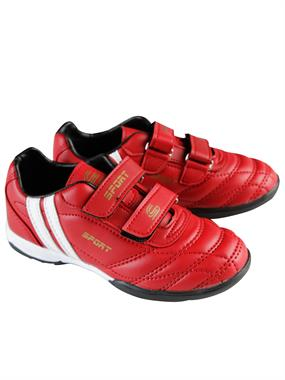 Sport Numbers 31-35 Astroturf Black Red Sports Shoes Boy