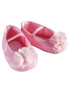 Funny Baby Pink Baby Girl Booties
