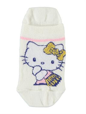 Hello Kitty Boy Girl Socks Booties Ecru The Ages Of 3-9