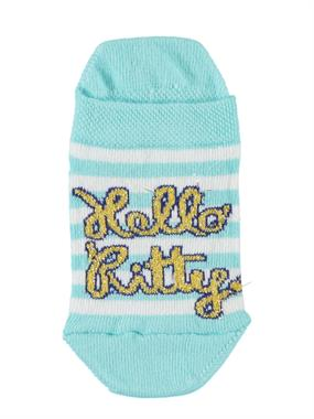 Hello Kitty Boy Girl Socks Booties Mint Green Age 3-9
