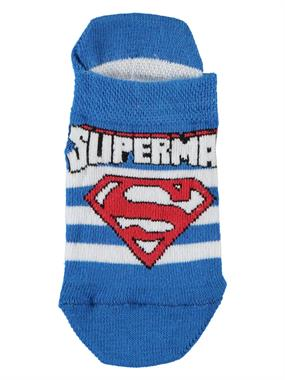 Superman Blue Boy Socks Booties Saks The Ages Of 3-9
