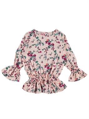 Civil Girls Powder Pink Frilly Shirt Girls Age 10-13