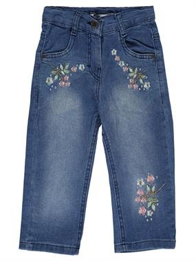 Civil Girls Girl Kid Age 6-9 Blue Capri Jeans