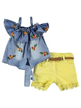 Civil Girls The Team In 2-5 Years Girl Yellow Boy Shorts