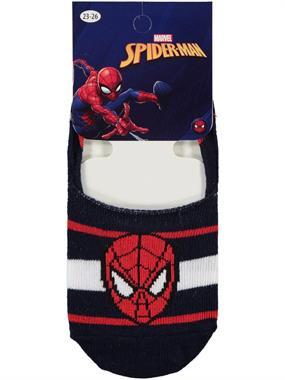 Spiderman Erkek Çocuk Babet Çorap 5-9 Yaş Lacivert