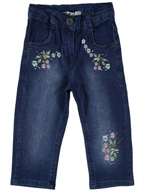 Civil Girls Girl Kid Jeans Capri Dark Blue The Ages Of 6-9