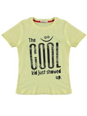 Civil Boys Boy T-Shirt Age 6-9 Yellow