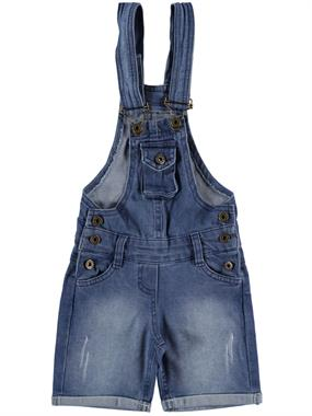 Civil Girls 2-5 Years Blue Jeans Boy Girl Suspenders Slopet