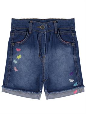 Civil Girls Girl's Blue Denim Shorts Age 6-9