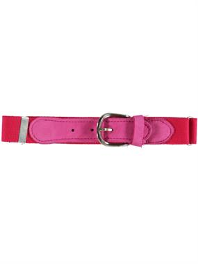 Civil Kids Boys Girls Age 1-8 Adjustable Rubber Belt Fuchsia